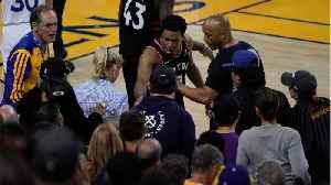Warriors Minority Owner Mark Stevens Fined $500,000 After Shoving Kyle Lowry [Video]
