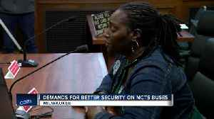 Drivers demand better security on MCTS buses [Video]
