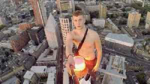 Daredevil Teen Takes To The Skies Of London By Climbing Huge Building In Islington In Order To Raise Awareness For Mental Health [Video]