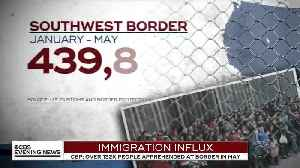 CBS Report on illegal alien border crisis [Video]