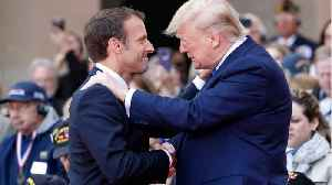 """Trump, Macron honour D-Day veterans who fought through """"Fires of hell"""" [Video]"""