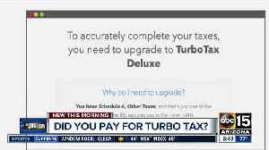 Did you pay for Turbo Tax? [Video]