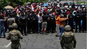 Mexico sends armed forces to meet migrants at Guatemalan border [Video]
