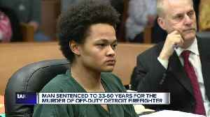 Man sentenced to 33-60 years in prison for murder of Detroit firefighter [Video]