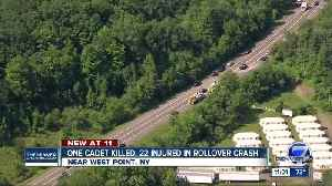 1 dead, 22 injured after military truck at West Point overturns [Video]