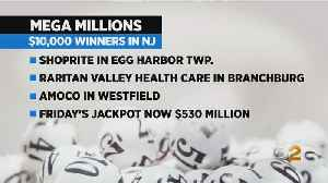Three People Win Mega Millions Prizes In New Jersey [Video]