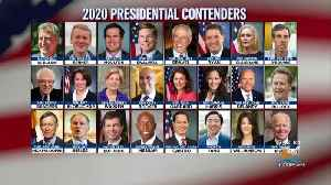 Democratic Field Of Presidential Candidates Just Weeks Away From First Primary Debate [Video]