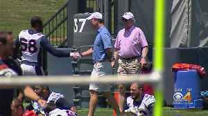 Peyton & Archie Manning Drop By Broncos Mini-Camp [Video]