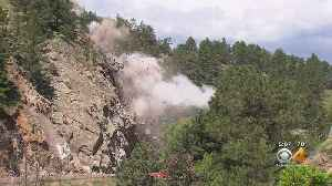 Blasting Closes Highway 119 For Hours Every Day [Video]