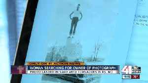 Photographer searches for owners of picture found after storm [Video]