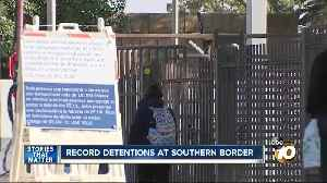 Record detentions at southern border [Video]
