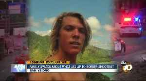 News video: Girlfriend of border shootout suspect says trip to Mexico is a mystery