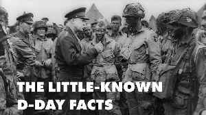 Weird D-Day facts: From Hitler sleeping to fake tank track [Video]