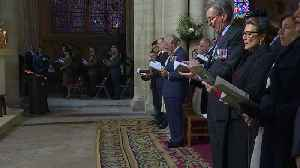 Royals join politicians for D-Day service in Bayeux [Video]