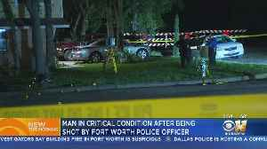 Fort Worth Officer Shoots Burglary Suspect Who Tried To Assault Him [Video]