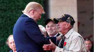 Trump Hails D-Day Veterans As 'Among The Very Greatest' [Video]