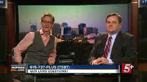 MorningLine: Gun Laws Questions? P.4 [Video]