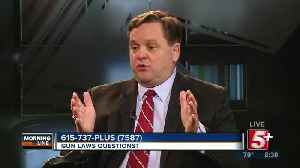 MorningLine: Gun Laws Questions? P.2 [Video]