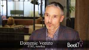 Converged At Cannes: Amobee's Venuto On TV Data [Video]