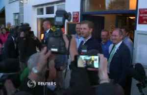 Donald Trump's sons arrive in Ireland to a hero's welcome [Video]