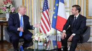 David A. Andelman: Look for fireworks at Trump-Macron meeting in Normandy [Video]