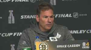 Bruce Cassidy Says Zdeno Chara, Matt Grzelcyk Are Game-Time Decisions For Stanley Cup Game 5 [Video]