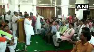 Beat govt officers with shoes if they show disrespect: BJP MLA to party cadre [Video]