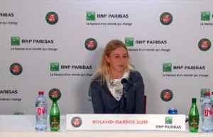 Anisimova says beating Halep was 'crazy' [Video]