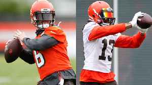 Cleveland Browns wide receiver Odell Beckham Jr. and quarterback Baker Mayfield's connection continues to grow at Browns minicam [Video]