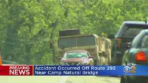 News video: Military Vehicle Accident Kills 1 Army Cadet, Injures 22 Others