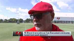 Tampa Bay Buccaneers head coach Bruce Arians impressed by quarterback Jameis Winston's work ethic: He's here before me, he's lea [Video]
