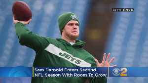 Jets' Darnold Enters Second NFL Season With Room To Grow [Video]