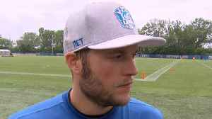 Matthew Stafford discusses wife Kelly's recovery from 12-hour surgery for brain tumor [Video]