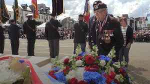 Veternas mark 75th D-Day anniversary in Normandy [Video]