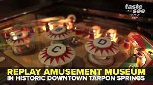 Play vintage pinball and arcade games at Replay Amusement Museum | Taste and See Tampa Bay [Video]