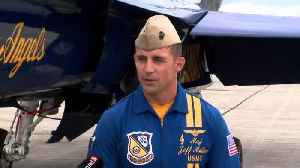 Blue Angel pilots return to mid-state [Video]