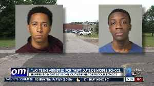 Police arrest and charge two teens in Meade Middle School assault and armed robbery [Video]