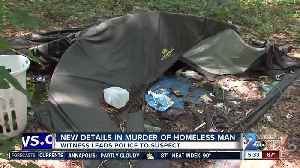 Witness leads police to new details in murder of homeless man in Glen Burnie [Video]
