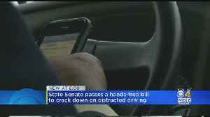 Driver Hand-Held Cellphone Ban Moves Closer To Becoming Law [Video]
