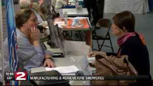 Around 20 Herkimer County businesses take part in manufacturing and agriculture showcase [Video]