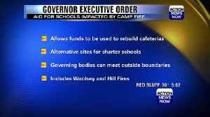 Newsom issues order to provide funding for schools impacted by wildfires [Video]
