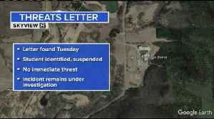 Student suspended following school threat letter found at Kickapoo school [Video]