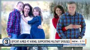 FOR FB: Wisconsin becomes first state designated for military spouse services [Video]