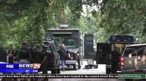 MAN BARRICADED IN GULFPORT HOME [Video]