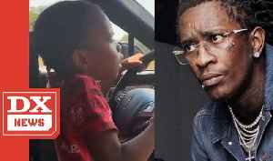 Young Thug Reacts To Video Of His Daughter Driving Car  It'll Be Handled Expeditiously [Video]
