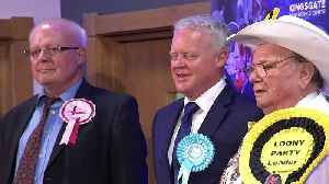 News video: Brexit Party fails to beat Labour in Peterborough