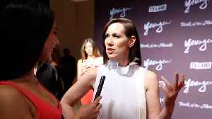 Miriam Shor Interview 'Younger' Season 6 New York Premiere Red Carpet [Video]
