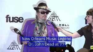 New Orleans Music Legend Dr. John Dead at 77 [Video]