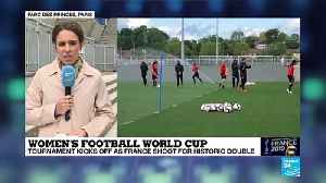 News video: Women's World Cup kicks off in France