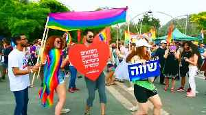 Watch: Gay pride march takes place amid tensions in Jerusalem [Video]